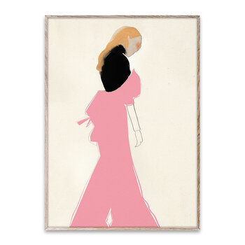 The Pink Dress Poster