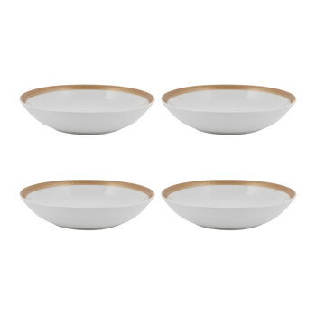 Glam Pasta Bowl - Set of 4 - Gold