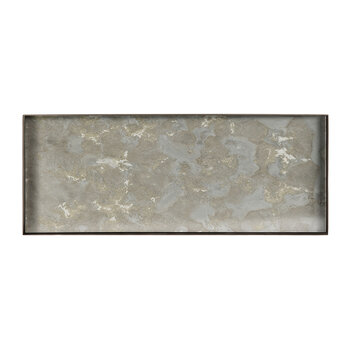 Fossil Organic Glass Tray - Large