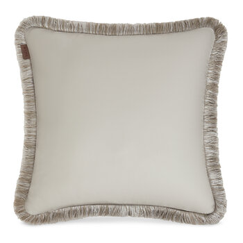 Harrison Bayonne Pillow With Passementerie - Gray