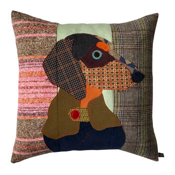 Franz the Dachshund Pillow - 50x50cm