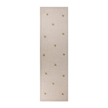 Embroidered Golden Bee Table Runner - archived