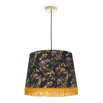 Brocade Cone Ceiling Light
