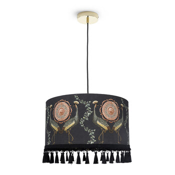 Garden Birds Drum Ceiling Light