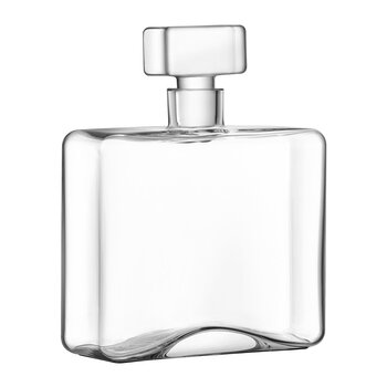 Cask Whisky Rectangle Decanter - Clear