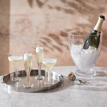Epoque Champagne Flute - Set of 2 - Clear
