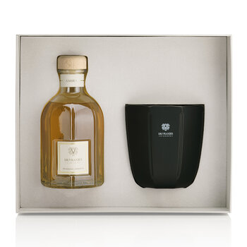 Reed Diffuser and Candle Gift Set - Ambra