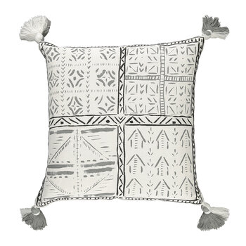 Loseta Cushion - 50x50cm - Charcoal