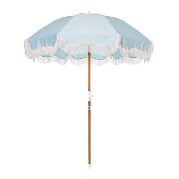 Holiday Beach Umbrella - Santorini Blue