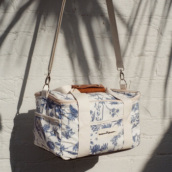 Premium Cooler Bag - Chinoiserie