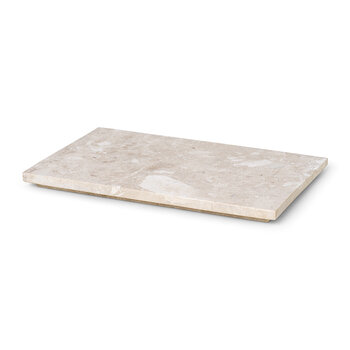 Marble Tray for Plant Box - Beige