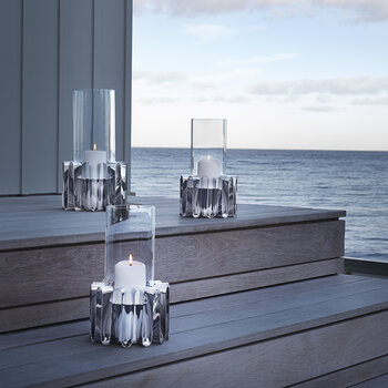 Frequency Hurricane Glass - Stainless Steel