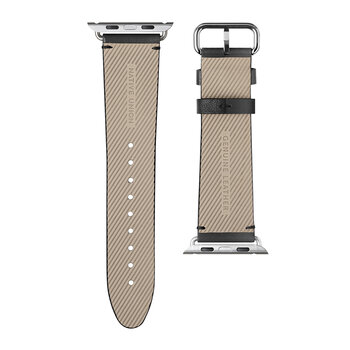 Apple Watch Leather Strap - 44mm - Black
