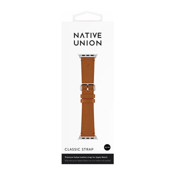 Apple Watch Leather Strap - 44mm - Brown