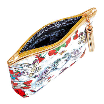 Strawberry Garden Cosmetic Bag