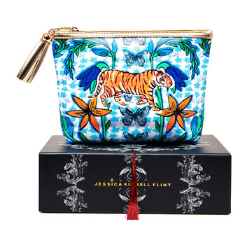 The Mexican Tiger Cosmetic Bag - Classic