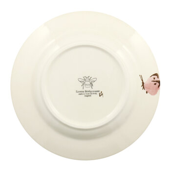 Pink Cabbage White Butterfly Salad Plate - Salad Plate