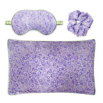 Draw It Like A Daisy - Scrunchie/Eye Mask/Pillowcase