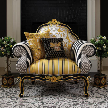 Queen Bee Lounge Chair - Yellow
