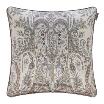 Exeter Atlante Cushion With Cord - 45x45cm - Beige