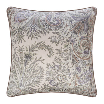 Exeter Atlante Pillow With Cord - 60x60cm - Beige