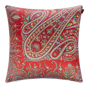 Goa Mormugao Pillow With Profile - 60x60cm - Red
