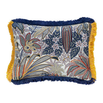 Harrison Maplewood Cushion With Passementerie
