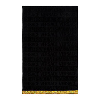 I Love Baroque Hand Towel - Black - Face Towel