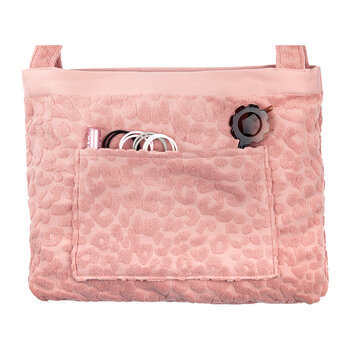Terry Towel Tote - Call Of The Wild - Blush Pink