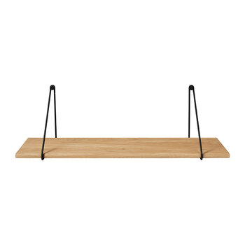 Panola Wires For Wall Shelf - Set Of 2 - Black