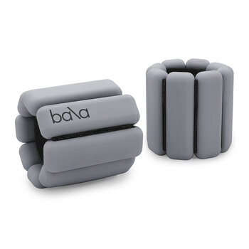 Bala Bangles 1lb Ankle/Wrist Weights - Heather