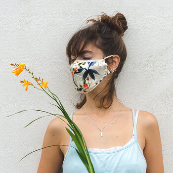 Silk Face Covering - Bloom - Bloom
