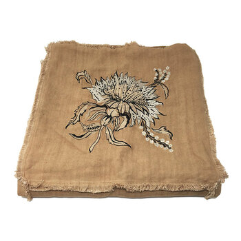 Thistle Linen Throw - 130x170cm