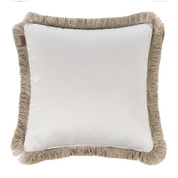 Harrison Montclair Pillow With Passementerie - Gray - 45x45cm