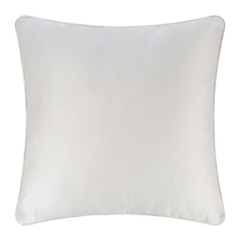 Harrison Montclair Cushion With Piping - Grey - 60x60cm