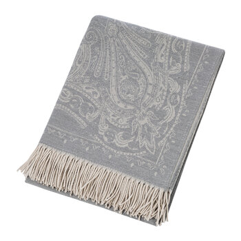 Harrison Panjim Fringed Throw - 140x180cm - Gray