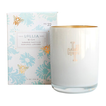 Wish Luminary Scented Candle - Sugared Pastille