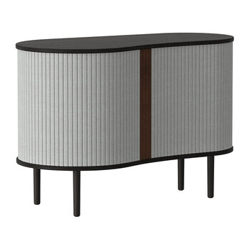 Audacious Cabinet - Black - Silver Grey