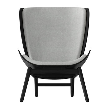 The Reader Chair - Black - Silver Grey