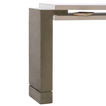 Stratos Console Table - White G05/Lava A67