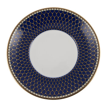 Gordon Castle Antler Trellis Teacup & Saucer - Midnight