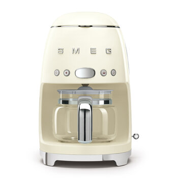 Drip Coffee Machine - Cream