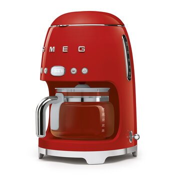 Drip Coffee Machine - Red