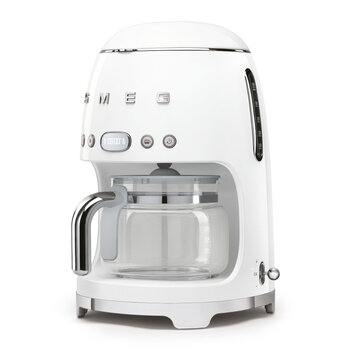 Drip Coffee Machine - White