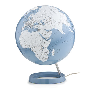 Atmosphere Illuminated Globe - 30cm - Azure