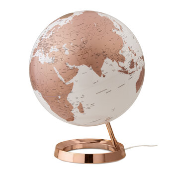 Atmosphere Illuminated Globe - 30cm - Copper