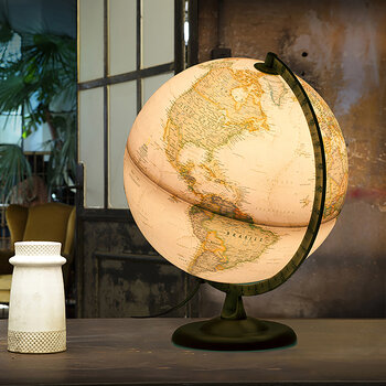 National Geographic Executive Globe - 30cm - Gold