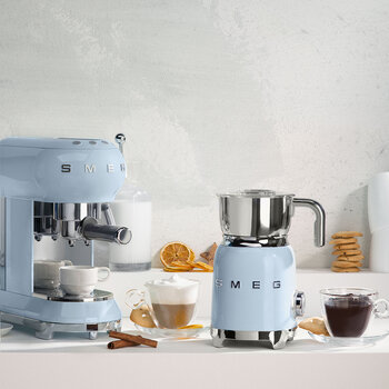 Espresso Machine - Pastel Blue