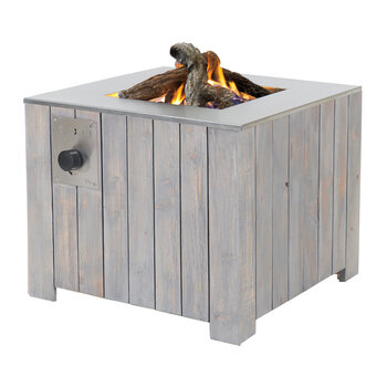 Cosicube 70 Fire Pit - Grey