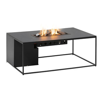 Cosidesign 120 Table Fire Pit - Black Marble